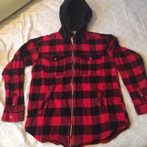 Flannel Sweatshirt